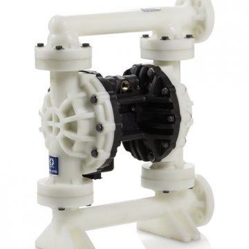 Husky 15120 Polypropylene Pump, End Flange, Polypropylene Center Section, PVDF Seats, PTFE Balls & PTFE Overmolded Diaphragm