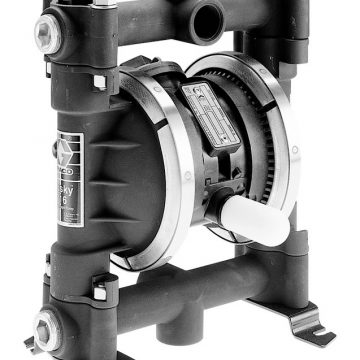 Husky 716 Aluminum Transfer Pump Package with Acetal Seat, Santoprene Ball & Santoprene Diaphragm