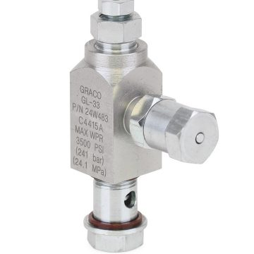 "GL-32™ Replacement Grease Injector, Stainless Steel, 1/8"" Outlet"