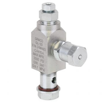 GL-33 Replacement Stainless Steel Grease Injector, 1/8 Outlet